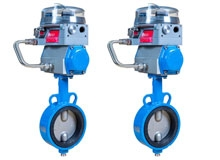 Jamesbury® EasyFlow JA Series Butterfly Valves