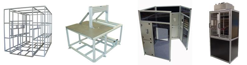 Machine Frames and Enclosures
