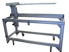 Manual Loader for Glass Panel