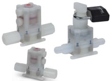 22 Series Ultra High Purity Fluoropolymer Valves