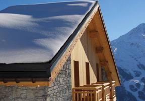 SnoFree™ Heated Roof Panels