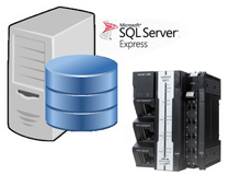 How To Set Up SQL Function Blocks of Omron NX102-1020 with Microsoft SQL Express 2019