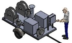 Transformer Oil Transfer and Flushing System