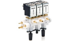 ASCO™ Series 252 Miniature Solenoid Valves Dental Manifold