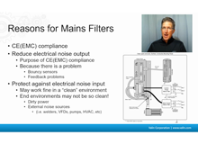 The Motion Control Show, Episode 11 EMC Installation - Selecting a Mains Filter