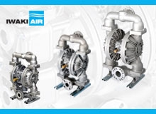 Iwaki Air's Latest Series of AODD Pumps