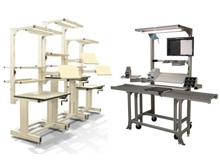 Aluminum Framing Work Stations
