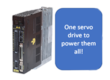 One Servo-Drive to Power Them All
