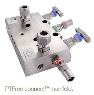 Parker PTFree connect™ manifold