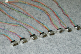 customized electrical sub assembly connectors