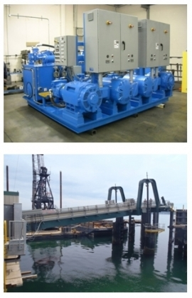 Examples of Valin's custom industrial hydraulic power units