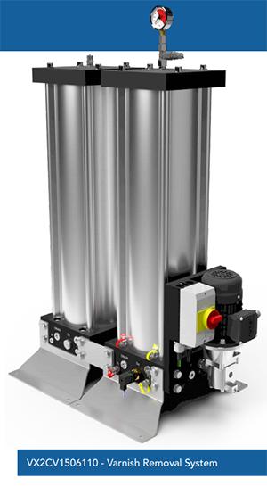 VX2CV1506110 - Varnish Removal System