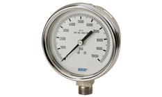 WIKA Bourdon Tube Pressure Gauge Models 232.54 and 233.54