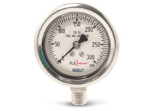 WIKA Introduces Revolutionary Liquid-Filled Gauge with Flexible Window