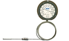 WIKA Gas Actuated Thermometers Models TI.R45 and TI.R60
