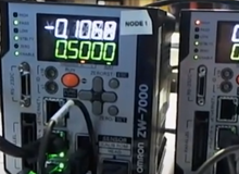 How to Use the Omron ZW 7000 Series to do a Thickness Measurement Using an Omron NX1P PLC
